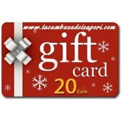 Gift Card da 20 €