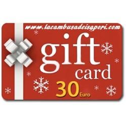 Gift Card da 30 €