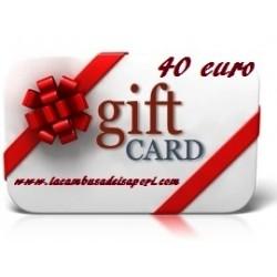 Gift Card da 40 €