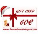 Gift Card da 60 €