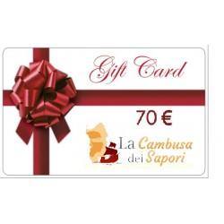 Gift Card da 70 €