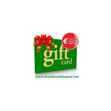 Gift Card da 80 €