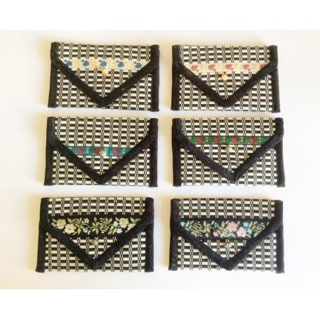 Portafoglio arte tessile