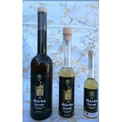 Liquore artigianale di mirto verde di Sardegna